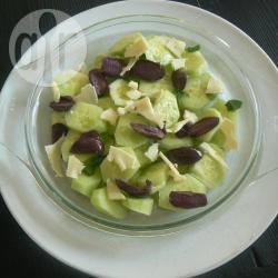 Insalata di cetrioli olive e galbanino™
