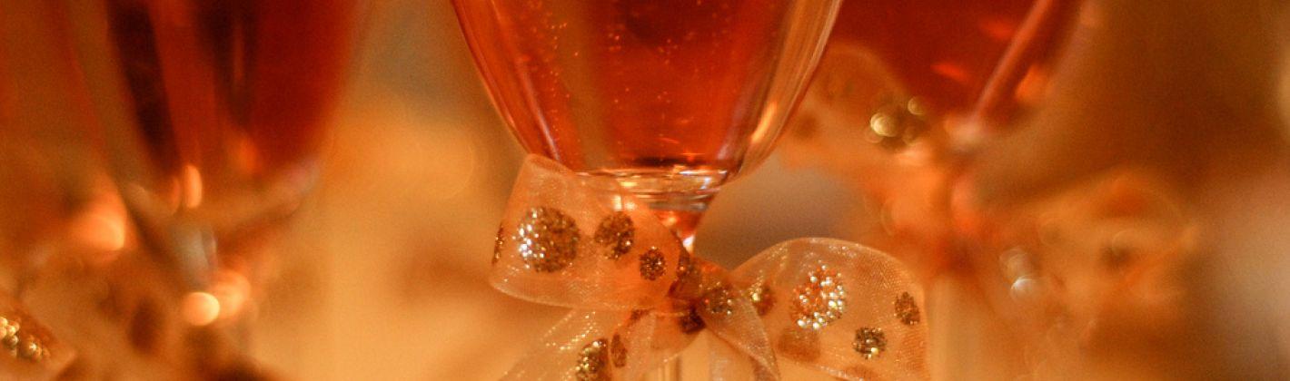 Ricetta champagne cocktail rosa