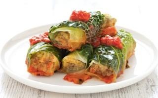 Ricetta involtini di verza alla salsiccia