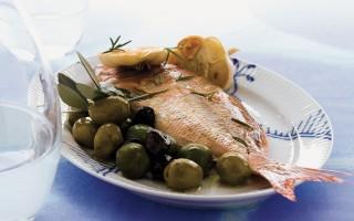 Ricetta dentice alle olive