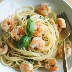 Spaghetti ai gamberi velocissima