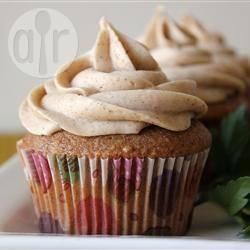 Cupcake alla zucca con crema alla cannella