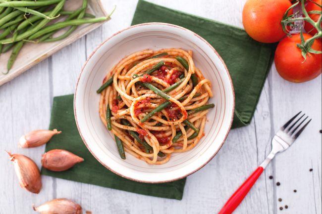 Ricetta pasta coi fagiolini