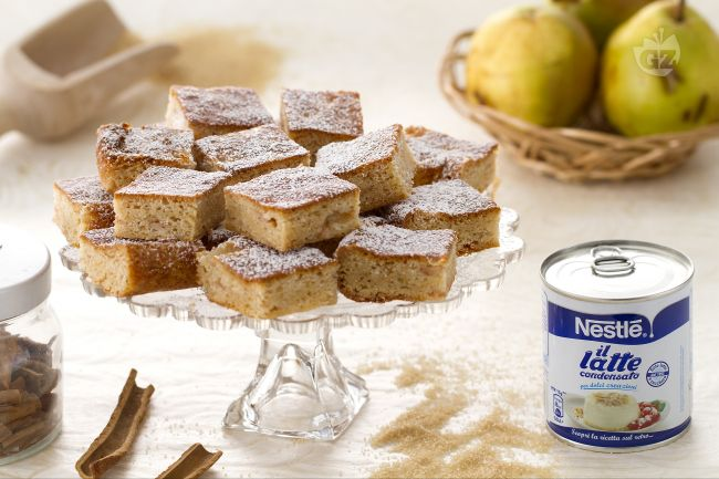 Ricetta blondies alle pere