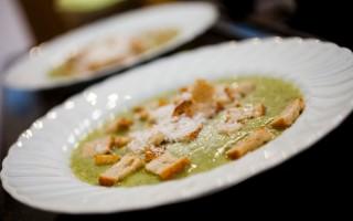 Ricetta crema di zucchine e crostini alla paprica
