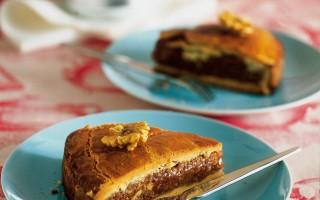 Ricetta torta di noci dell'engadina
