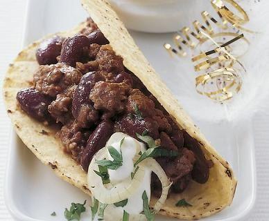 Ricetta tacos con carne