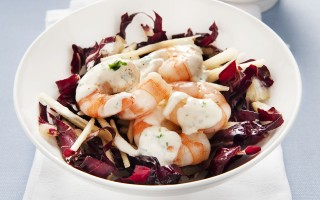 Ricetta insalata di gamberi e verdure