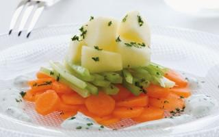 Ricetta mele, sedano e carote