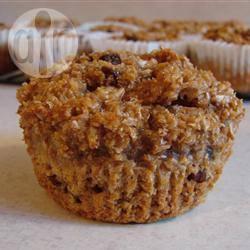 Muffin alla crusca e yogurt
