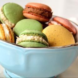 Macarons francesi in 4 gusti