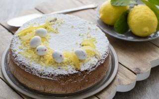 Ricetta torta caprese al cioccolato bianco e limone