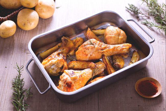 Ricetta cosce di pollo al forno