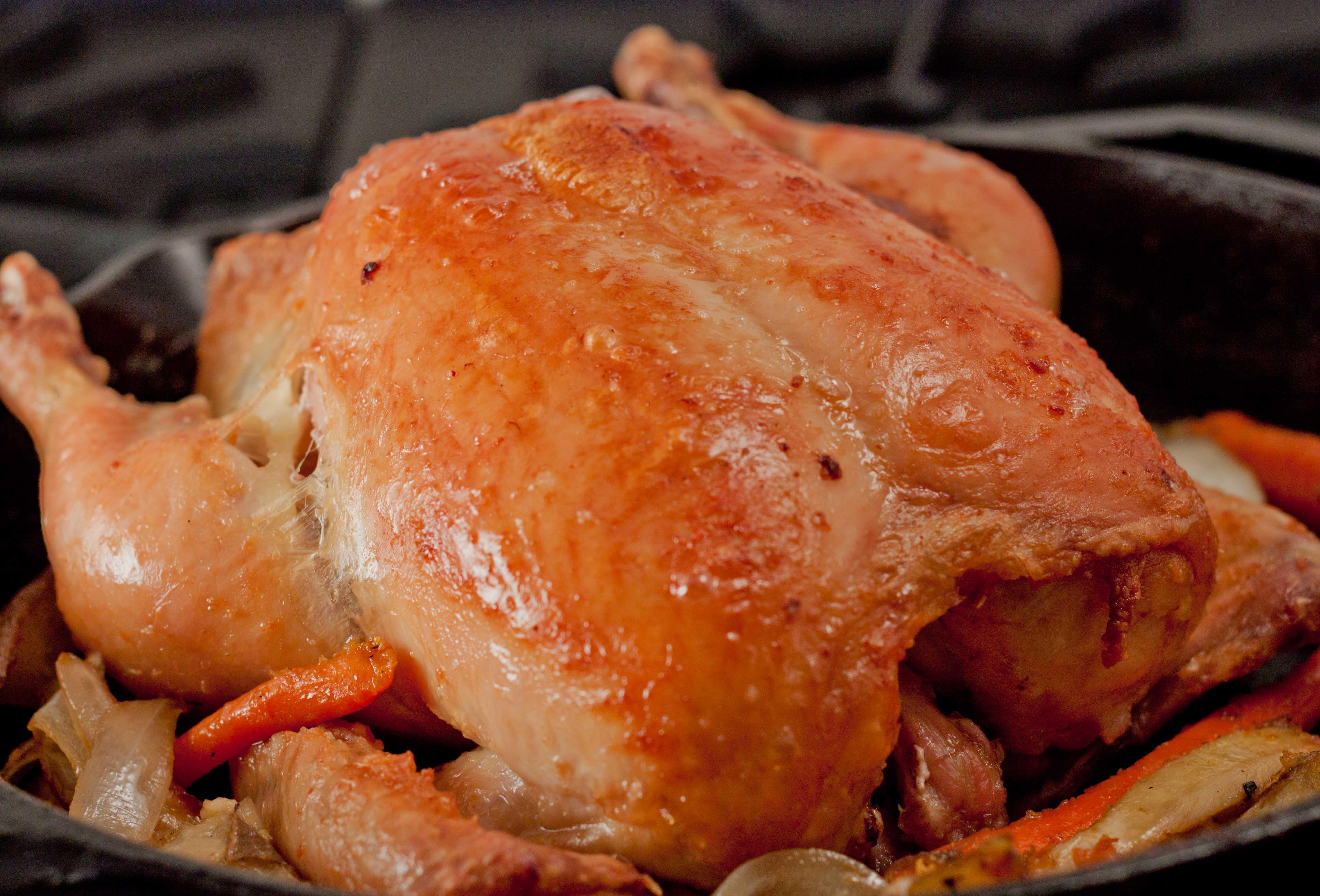 Pollo in porchetta