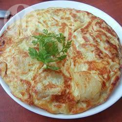 Tortilla (frittata) di patate spagnola