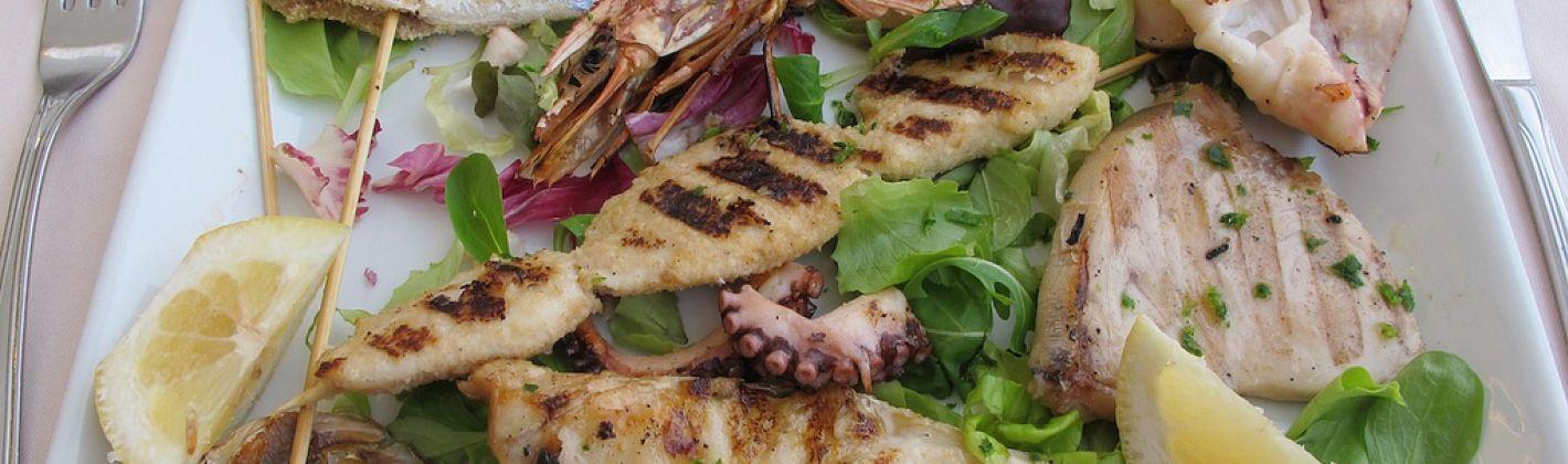 Ricetta grigliata mista di pesce