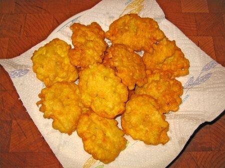Ricetta frittelle di mais e pancetta
