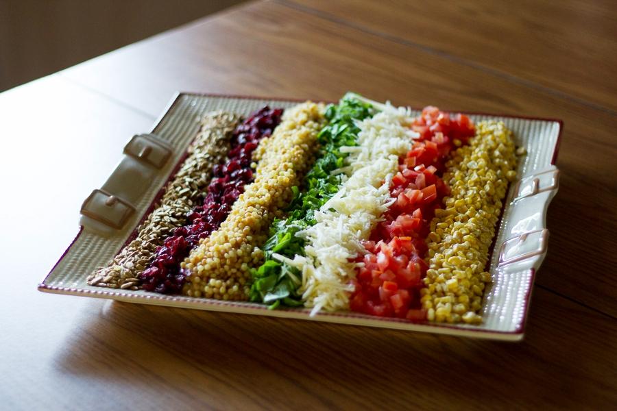 Insalata multicolore