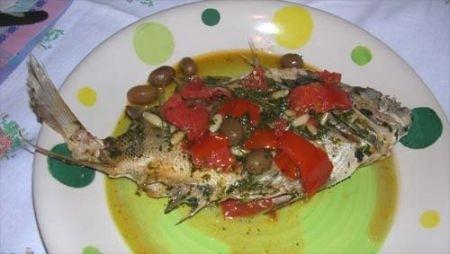 Ricetta pesce alla ligure