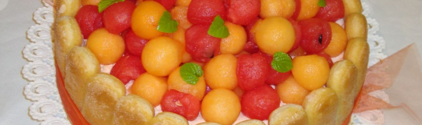 Ricetta charlotte al liquore di ciliegie