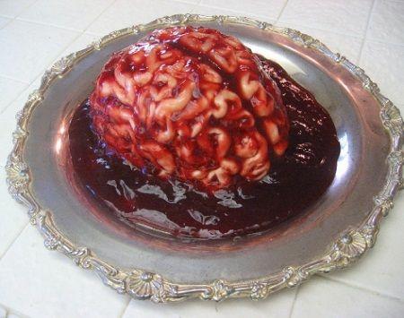Ricetta cervello di halloween