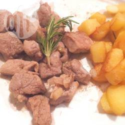 Straccetti di maiale all'aceto balsamico