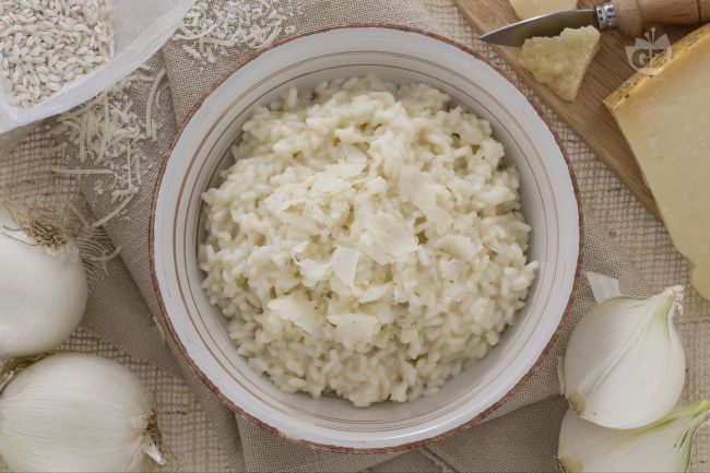 Ricetta risotto alla parmigiana