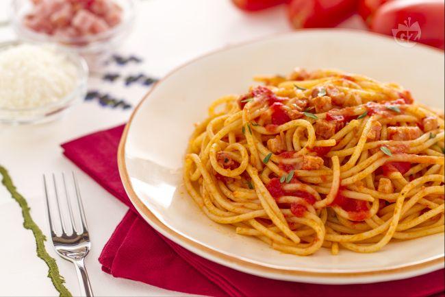 Ricetta spaghetti col rancetto