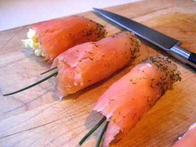 Ricetta involtini di salmone