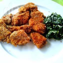 Crocchette di pollo al forno