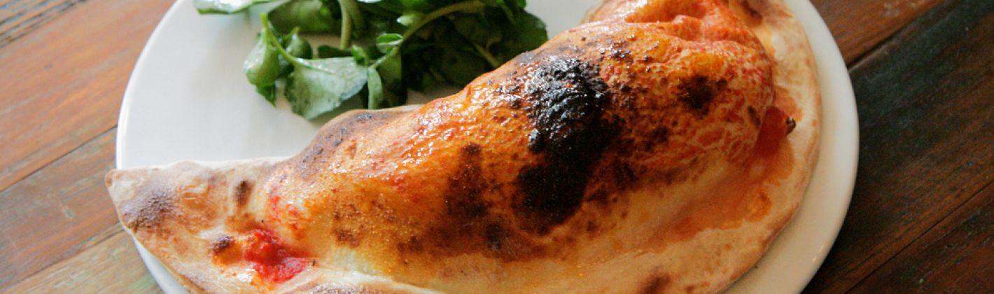 Ricetta calzone fritto con prosciutto e mozzarella