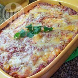 Pasta al forno con ricotta e mozzella