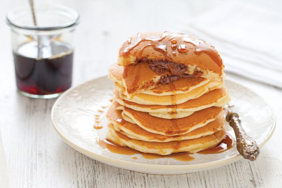 Ricetta pancake ripieni alla nutella
