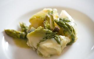 Ricetta charlotte di asparagi e patate