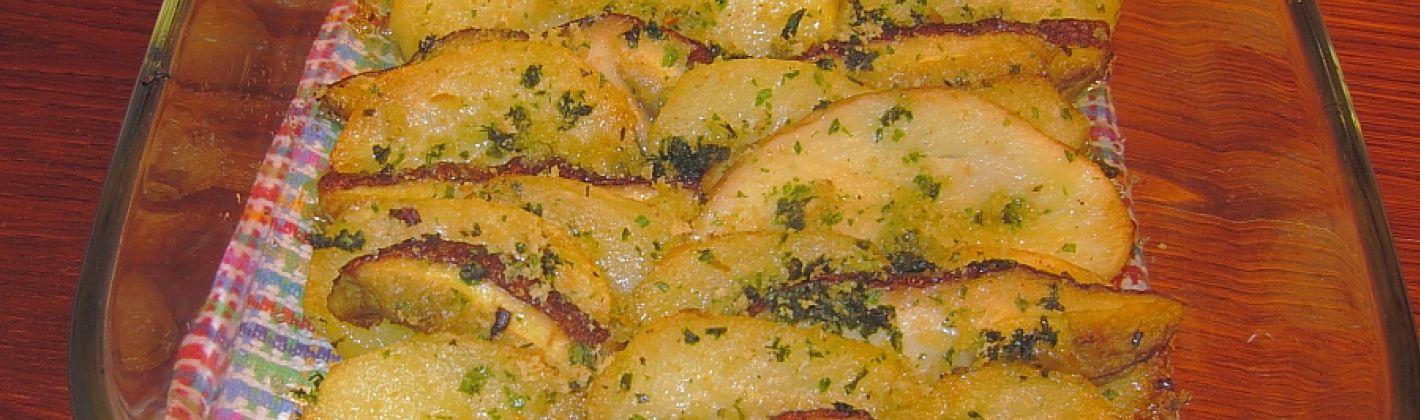 Ricetta carpaccio di patate e funghi