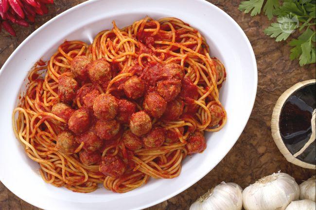 Ricetta spaghetti con le polpettine
