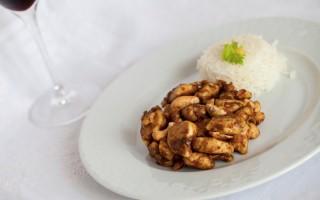 Ricetta pollo con anacardi e riso basmati