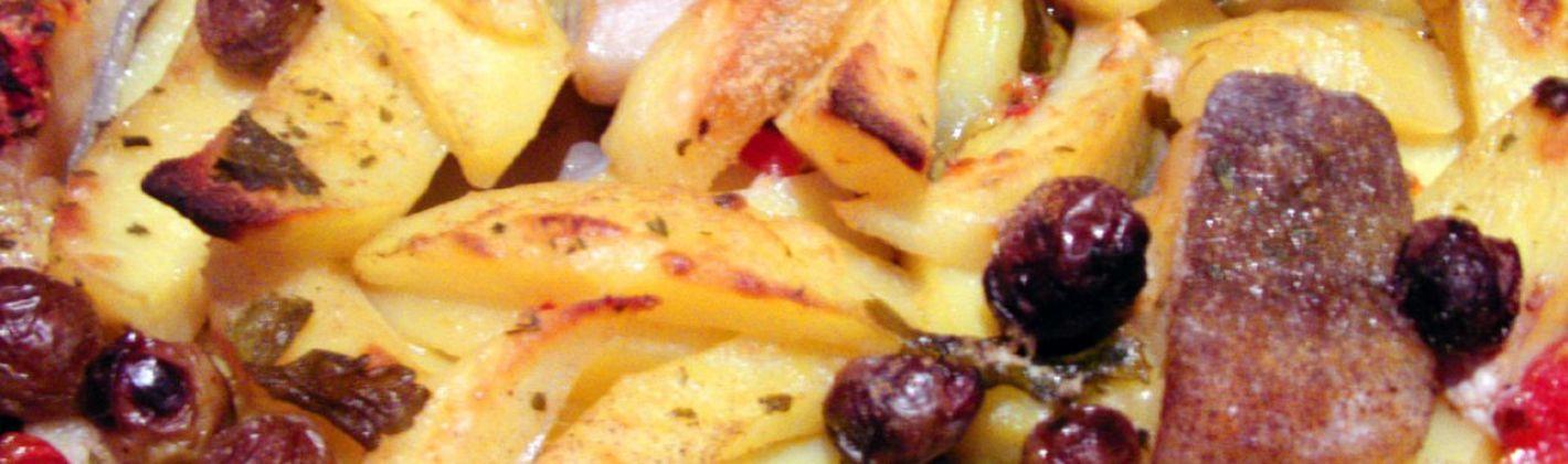 Ricetta baccalà con le patate in versione calabrese