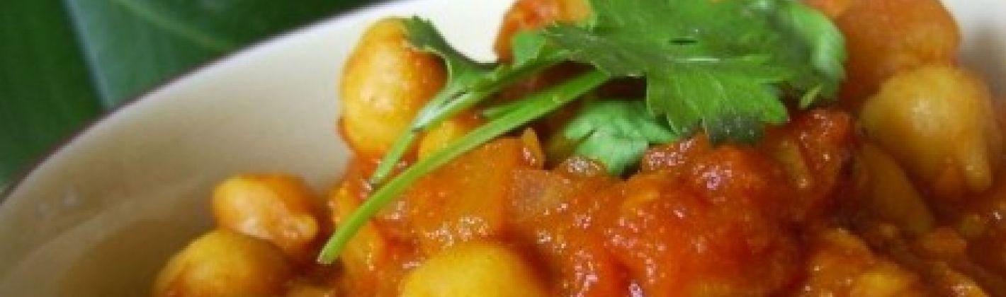 Ricetta curry di ceci