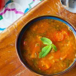 Harira vegetariana (zuppa marocchina)