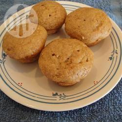 Mini muffin alla zucca e mele senza grassi