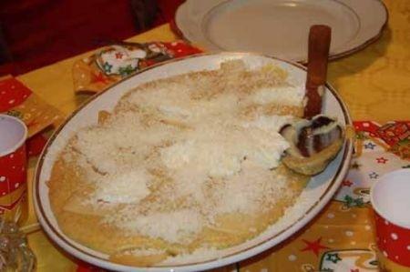 Ricetta polenta pasticciata ai formaggi