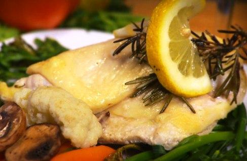 Pollo al limone  microonde