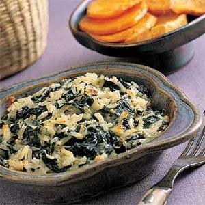 Ricetta riso con spinaci e uovo