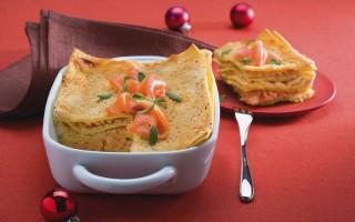 Ricetta lasagne al salmone e robiola