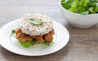 Ricetta burger di riso e pollo in salsa di soia
