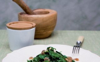 Ricetta spinaci all'agrodolce