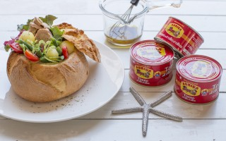 Ricetta insalata di tonno in pane di altamura