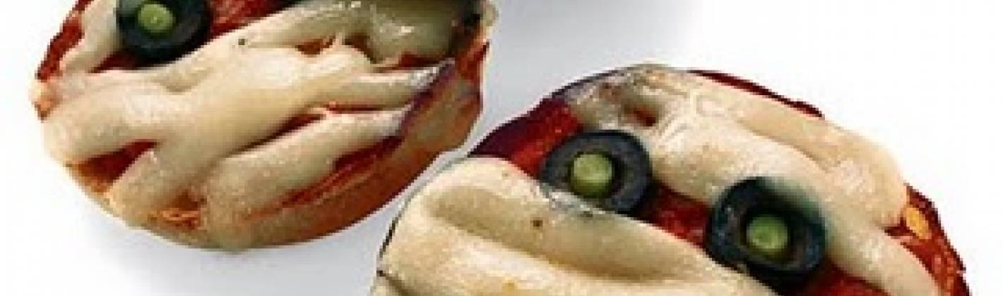 Ricetta pizzette zombie