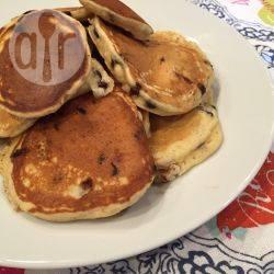 Pancakes senza glutine con gocce di cioccolato